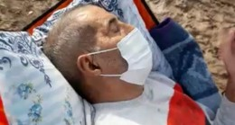 Ağrı'da rahatsızlanan yaşlı adam 4 kilometre taşındı