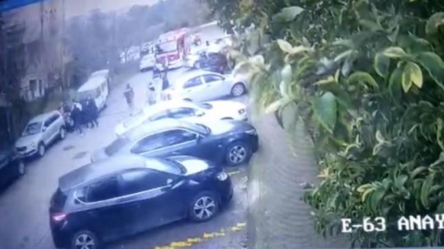 İstanbul'da geri manevra yapan sürücü yaşlı kadını sürükledi