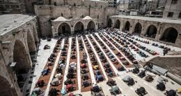 Gazze'de Ramazan ayının ikinci Cuma namazı