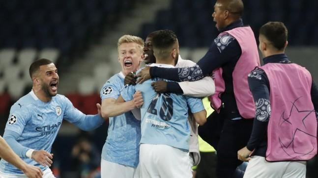 Manchester City, Şampiyonlar Ligi yarı final ilk maçında PSG'yi yendi