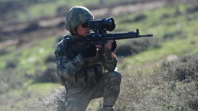 Avaşin-Basyan'da 3 PKK'lı terörist etkisiz hale getirildi