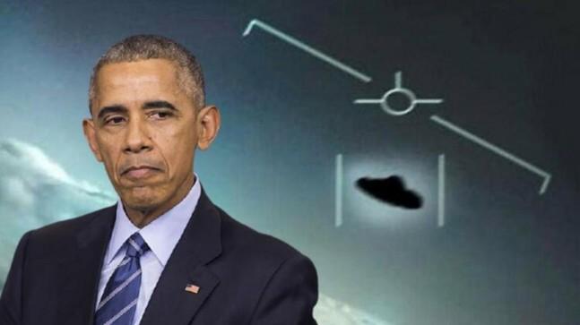 Barack Obama: UFO görüntülerinde ne olduğunu çözemedik