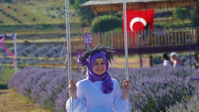 Isparta Kuyucak'a lavanta vadisi kuruluyor