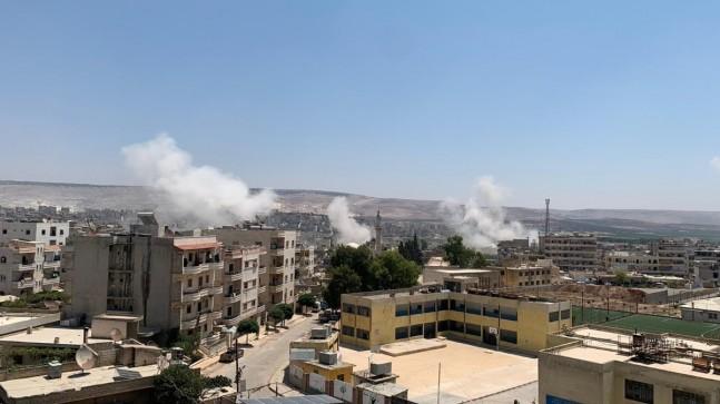 Tel Rıfat'taki YPG/PKK'lı teröristler, Afrin'deki sivilleri hedef aldı